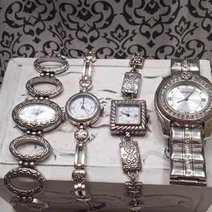 Lot of 4 Brighton Watches